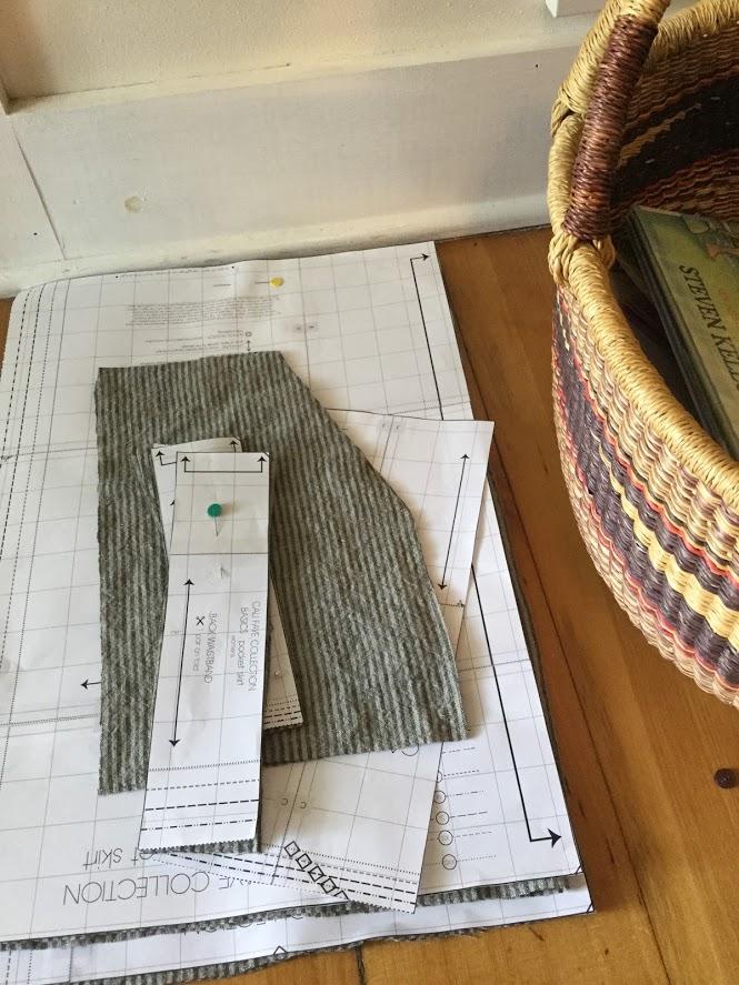 pocket skirt pieces