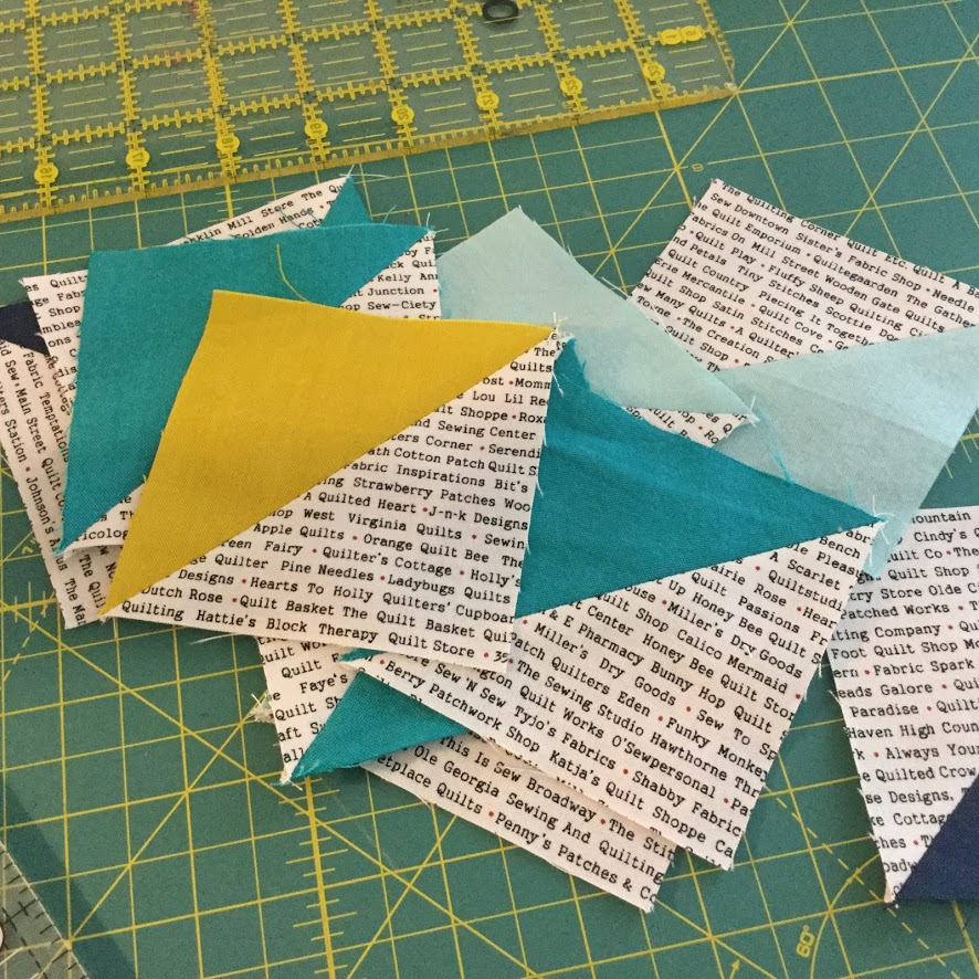 Quilt Block Birds And Bitters